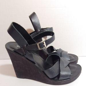 Kork-ease cork wedge sandals